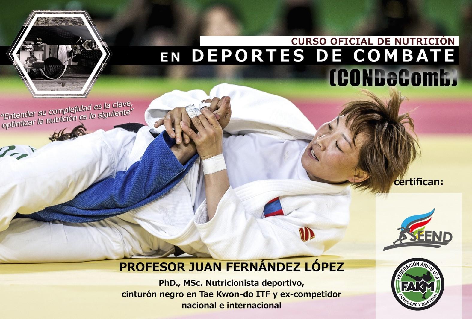 Curso Oficial de Nutrición en Deportes de Combate (CONDeComb)